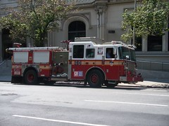 FDNY - Engine 40 - 7-19-11 (FDNY8231) Tags: new york city nyc rescue usa ny tower truck fire 1 4 rear 911 engine nypd aerial mount company mat ferrara ladder emergency firefighter 54 fdny department siren tiller dept seagrave response haz kfd responding code3 sfb mcfd ctfd hd77