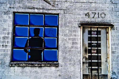 Houston Street Art | 4710 Window Silhouette