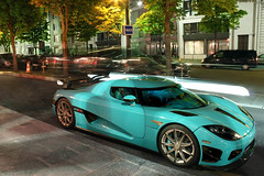 "Koenigsegg CCXR ""Special One"" (Bethove) Tags: blue paris cars car night canon pose one hotel 1 photo al shot pointer 5 ss royal voiture special r lp laser thani avenue edition bugatti maxime supercar lonard sv av suede cinque zonda koenigsegg voitures veyron 670 supersport monceau pagani 500d longue ccx calv hoche hypercar suedoise lamborghni ccxr bethove agera boncenne"