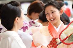 Chat...!! (Teruhide Tomori) Tags: japan kyoto performance 京都 日本 yasakashrine 八坂神社 gionmatsuri 祇園祭 花笠巡行 gionmatsurifestival