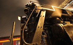 My Favorite Shot of 765! (Laurence's Pictures) Tags: road new york railroad chicago car st festival rock museum night train island louis illinois smoke main rail railway plate steam line transportation nickel session coal fest berkshire tender ftwayne judson the officially 2011 765 nycstl