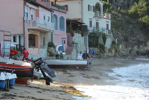 barca in secco