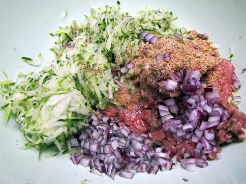 Zucchini Meat Loaf 1