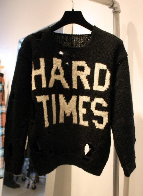Hard Times Machine Knit Sweater