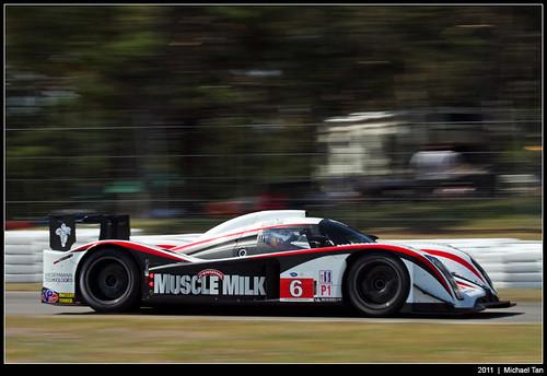 American Le Mans - Sunday race - Lucas Luhr/Klaus Graf