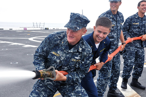 Academy Midshipmen Get Hands On Onboard New Orleans