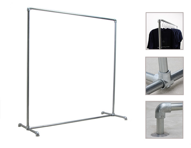 Freestanding Clothing Rack - Single