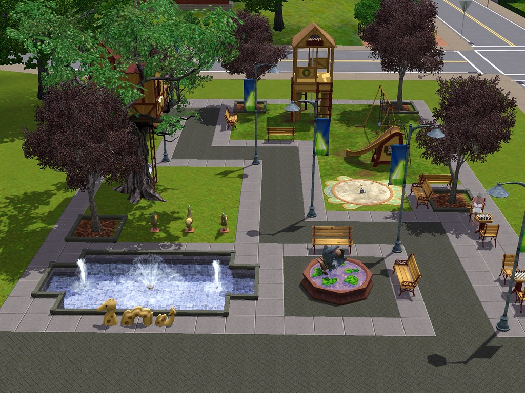 Sims 3 Town Life Stuff Pack Playground