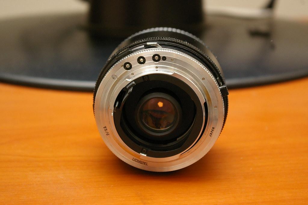 Pentax *ist Ds + Tamron 24mm F/2.5 01BB Adaptall II lens