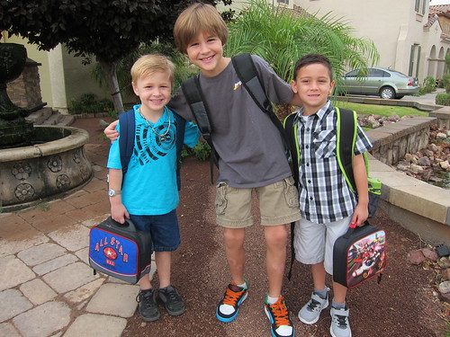 Parkers 1st day of school July 25 2011 010