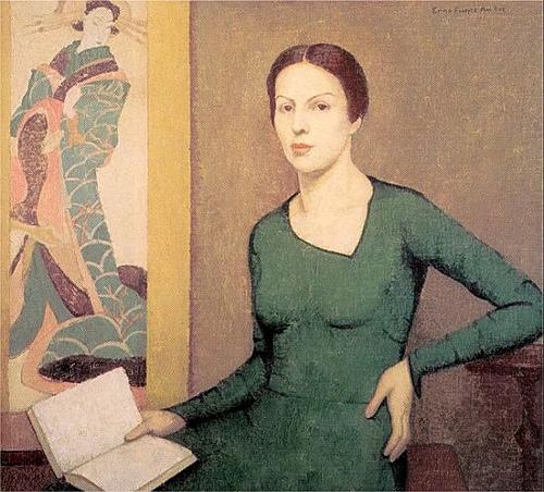 Emma Fordyce MacRae, Melina in Green, 1931