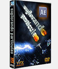 DVD Explorando Particulas em After Effects