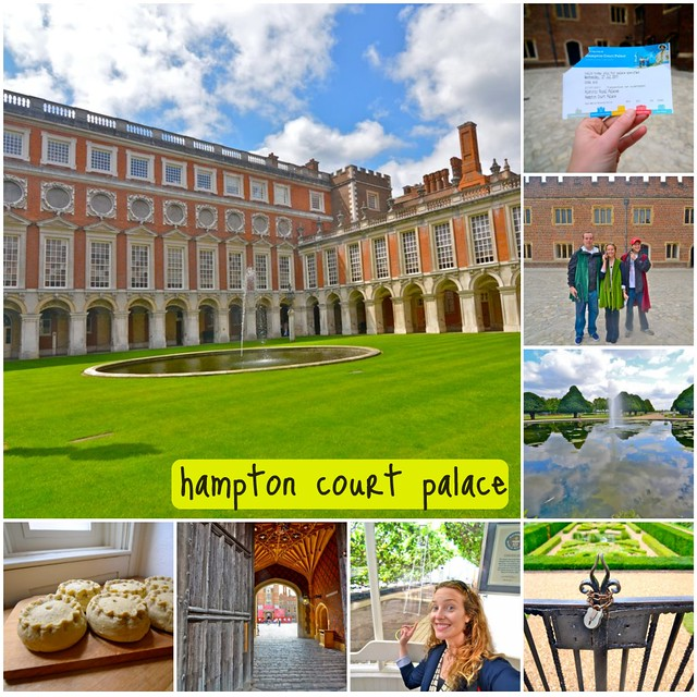 hampton court collage