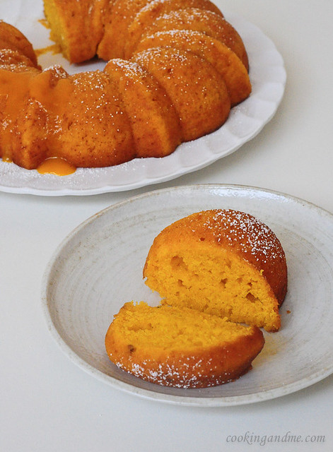 Vegan Mango Bundt Cake Recipe