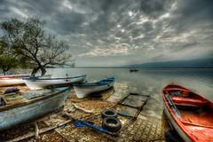It will be back (Nejdet Duzen) Tags: trip travel cloud lake reflection turkey boat trkiye sandal bursa bulut gl yansma turkei seyahat uluabatlake glyaz uluabatgl saariysqualitypictures mygearandme