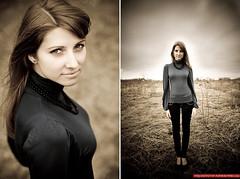 Kasia (Krzysztof Papierkowski) Tags: portrait girl canon photography 85mm poland polska 5d portret papier wrocaw
