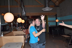 Rand Fishkin gets Employee love... Uh.. Kiss?
