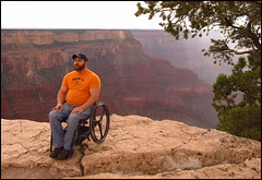 (Yieldsigns76) Tags: grandcanyon wheelchair craig notme gaygaygay craigers