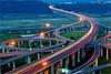 清水交流道 - Night view of ChingShuei Interchange High way No.3 (prince470701) Tags: taiwan taichung 車軌 清水交流道 carstrails sonya850 sony2470zaf28 chingshueiinterchangehighwayno3
