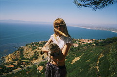 (Tommy Petroni) Tags: ocean houses summer mountains tree sunglasses cat bay view south chloe trippy verdes palos tilly