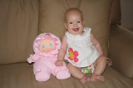 Annie Five Months 421