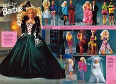 Barbie Journal 1992 (Finnish) (vaniljapulla) Tags: barbie catalogue bridalbarbie vintagebarbie barbiefashion barbieaccessories kenfashion barbiejournal1992 holidaybarbie1992 kenaccessories