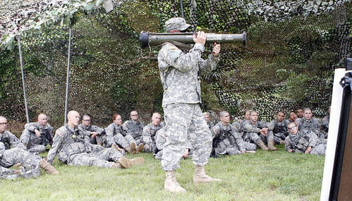 CBT: Company A in crew-served weapons training_12