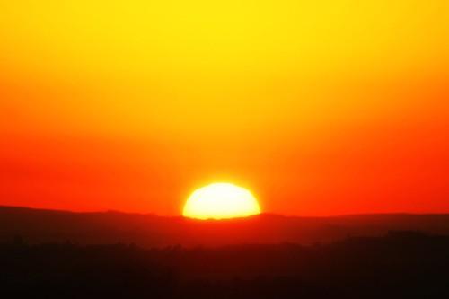 SUN IN MOUNTAIN