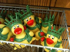 Lady Liberty rubber duckies