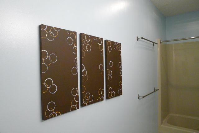 DIY Bathroom Art