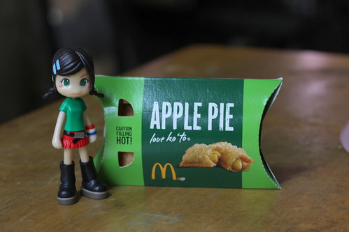 Blogging:  McDonalds Apple Pie