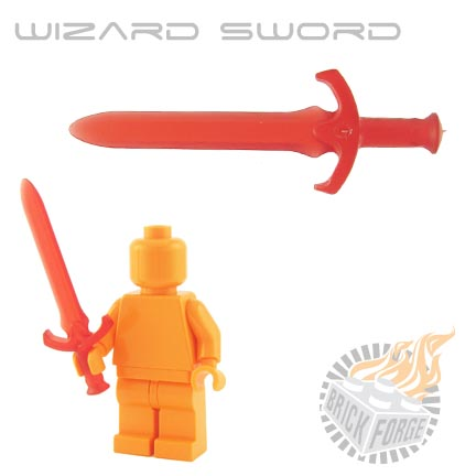 Wizard Sword (of Summoning) - Trans Red
