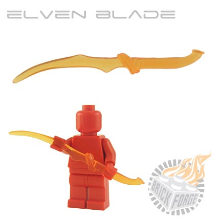 Elven Blade (of Fire) - Trans Orange