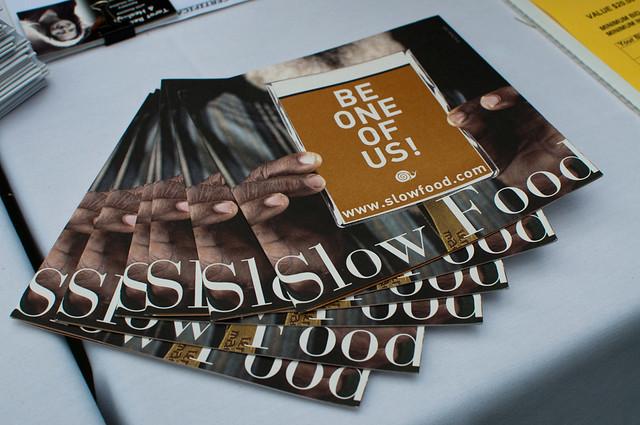 Slow Food brochures