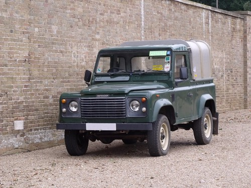 Holkham Hall - Coach House / Stable Block - Land Rover Defender