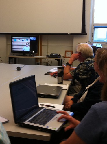 SOITA videoconference about iPad Apps