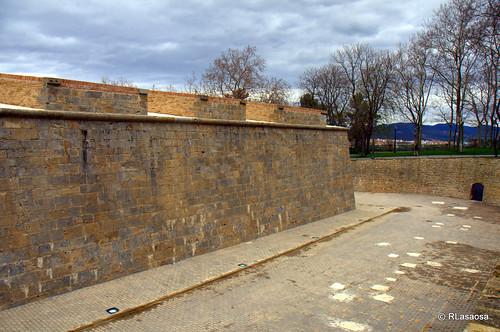 Foso anexo al Fortín de San Bartolomé, Pamplona