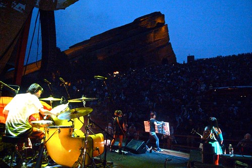 Morrison, CO: Red Rocks Amphitheatre
