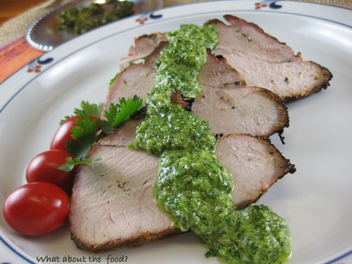 Lime, Garlic, Beer Marinated Pork