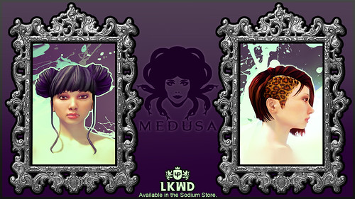 Medusa female for Home