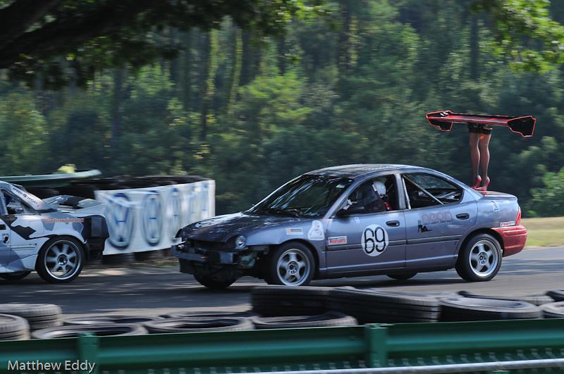 Oak Tree Turn - VIR - Chumpcar race - 2011