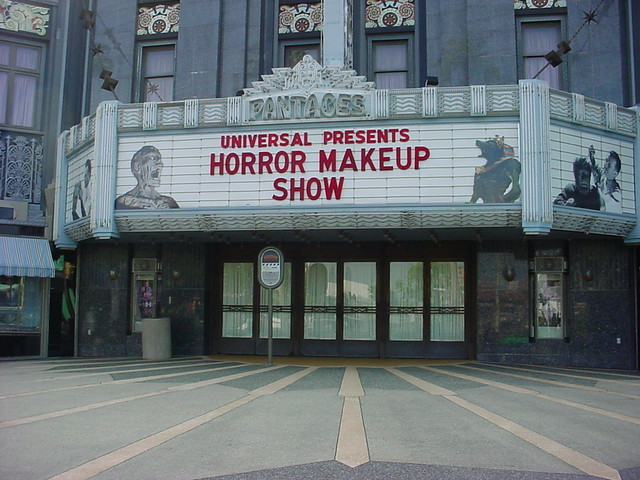 Horror Make Up Marquee