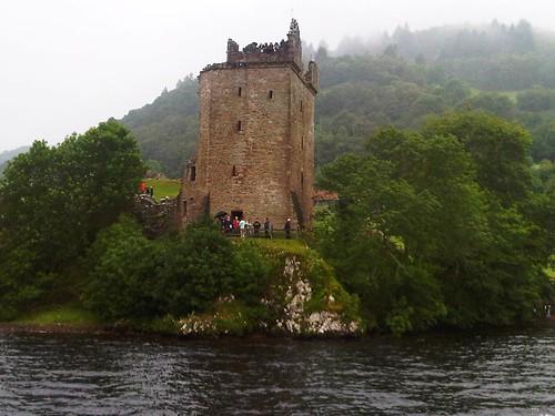 Castle Urquhart from Loch Ness
