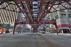 The Loop (Jackman Chiu) Tags: chicago illinois cta traintracks theloop hdr elevatedtracks 2011 july31 hdraddicted monroewabash