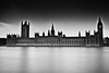 Palace of Westminster (:: arshad ::) Tags: longexposure england bw london landscape unitedkingdom housesofparliament riverthames arshad houseoflords palaceofwestminster houseofcommons husain westminsterpalace cityofwestminster siddiqui parliamentoftheunitedkingdom nd110 arshadsiddiqui arshadhusainsiddiqui httpwwwfacebookcomarshadsiddiquiphotography