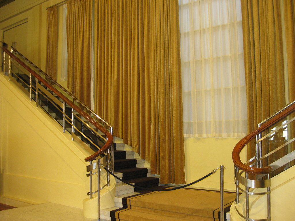 Streamline Moderne Mannequin Stairs - Myer Emporium Mural Hall, Bourke Street, Melbourne