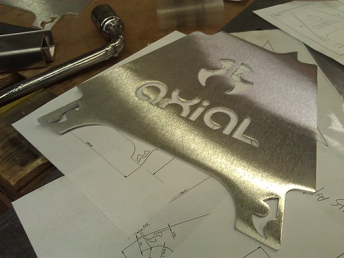 Laser Cutting Axial Logo