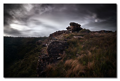 As the storm clouds move in.. (Colin_Bates) Tags: blue mountains clouds day mt banks winters nd110