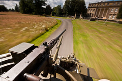 Rolling with the big guns! (keety uk) Tags: hampshire historicalreenactment romsey broadlands blastsfromthepast eventplan m8greyhound stuartbennettphotokeetynet photokeetynet stuartbennett 42rdreconnaissanceregiment theworldwar2livinghistoryassociation blastsfromthepast2011