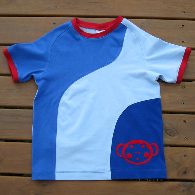 monkey tshirt front